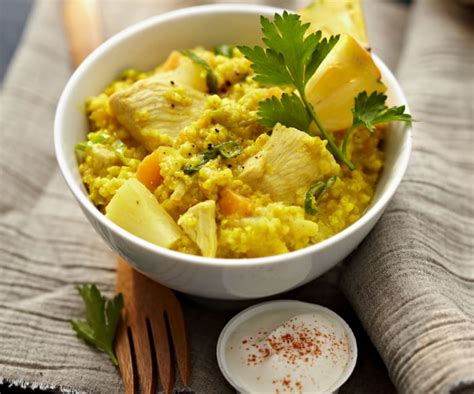 Curry-Hirsotto mit Huhn und Ananas - Cookidoo® – the