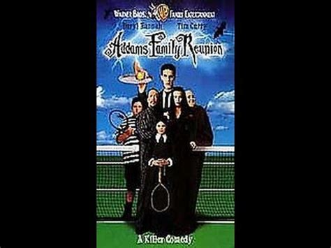 Opening To The Addams Family Reunion 1998 VHS - YouTube