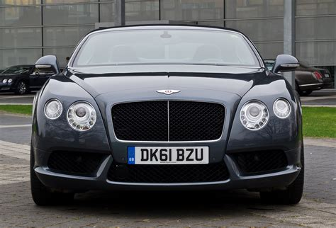 File:Bentley Continental GT V8 (II) – Frontansicht, 5