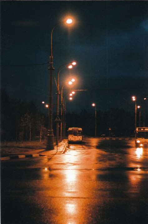 That moment you are in the silent streets at night and its