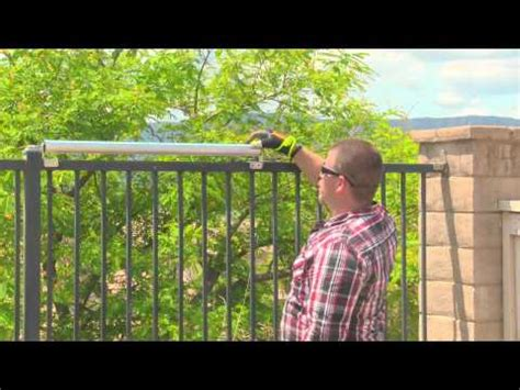 Coyote Roller Installation On A Wrought Iron Fence (Save 5
