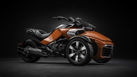 Wallpaper BRP Can-Am Spyder, F3-S, roadster, motorcycle