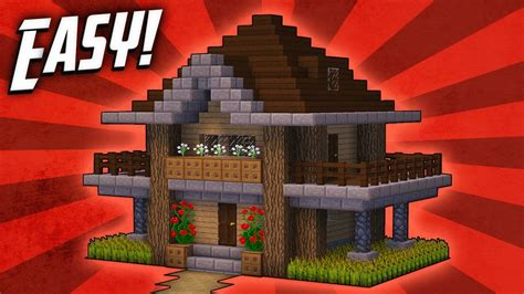 Minecraft: How To Build A Survival Starter House Tutorial