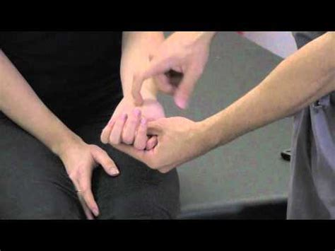 Tinel's Sign at the Wrist - ThePainSource