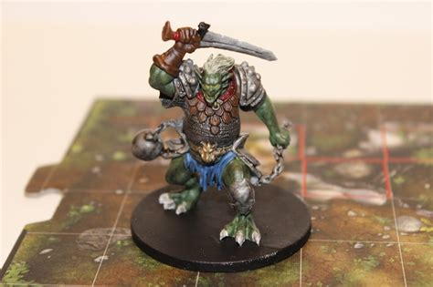 Andrew Bud Adams: Descent 2nd Edition Painted Miniatures