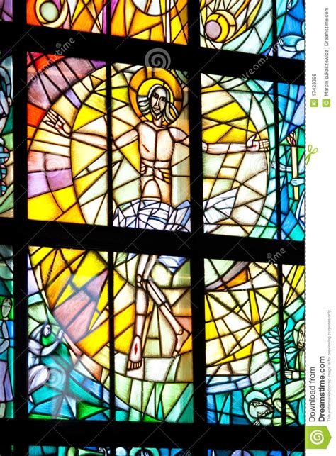 Stained Glass Royalty Free Stock Photos - Image: 17428398