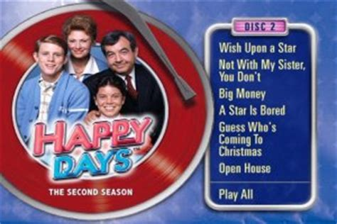 Sitcoms Online - Happy Days - The Second Season DVD Review
