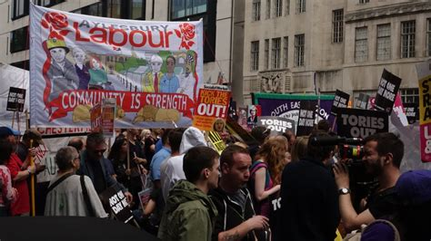 Thousands join anti-government protests in UK   News   Al