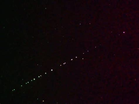 SpaceX Starlink satellites to be visible all week 'like a