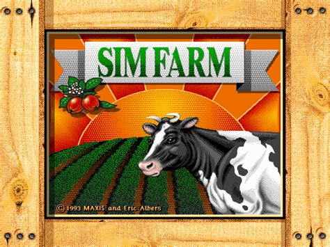 SimFarm   Old DOS Games   Download for Free or play on