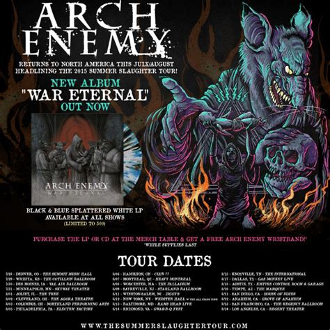 ARCH ENEMY Launches Illustration Video for 'Avalanche
