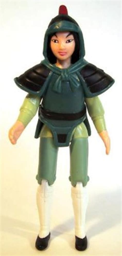 Mulan fast food toy from our Fast Food Toys (McDonald's