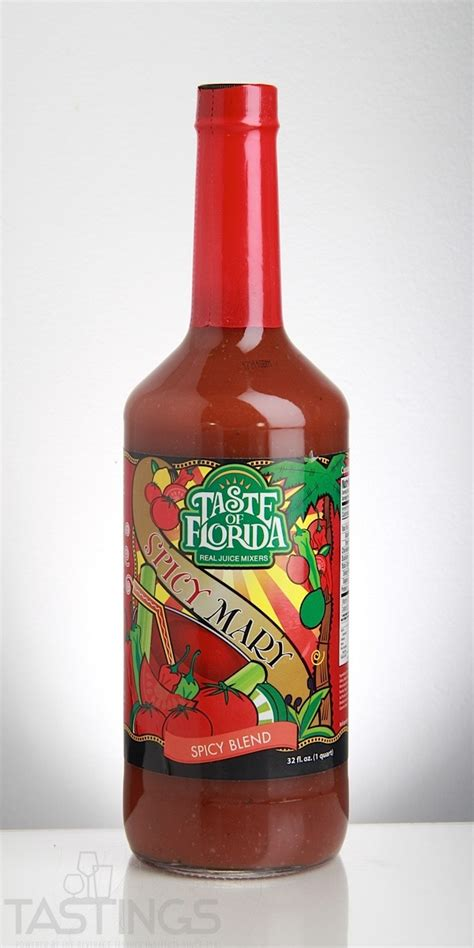Taste of Florida Spicy Bloody Mary Mixer USA Mixer Review