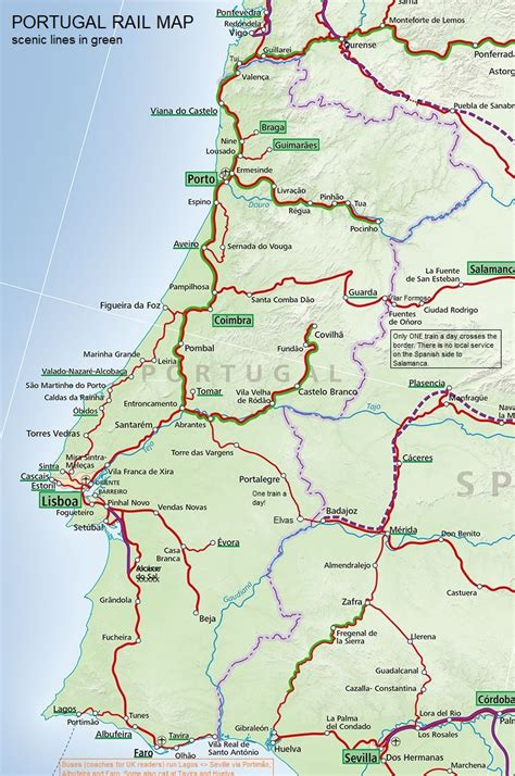 Trains in the Algarve - a summary of operations with