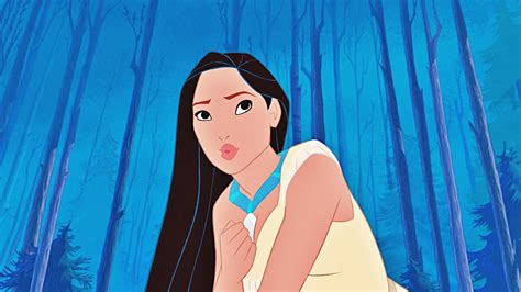 Pocahontas Walt Disney Characters HD Background Image for