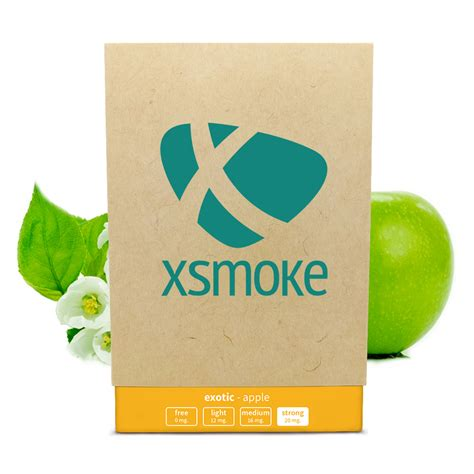 xsmoke® | Month Package Apple (Strong)