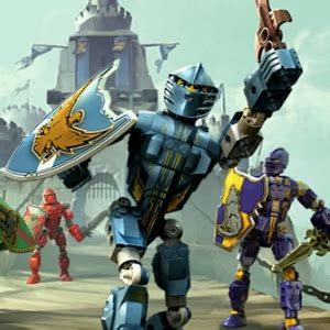 Play Lego 2 In 1: Bionicle And Knights Kingdom on GBA