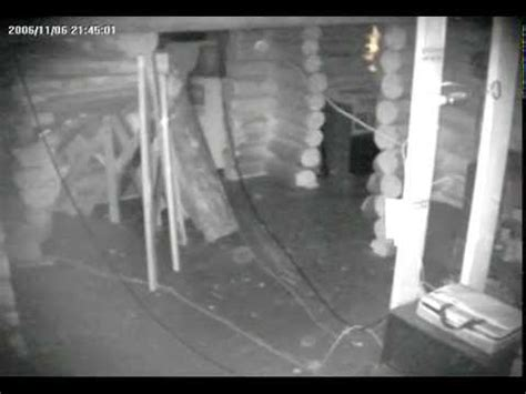Unexplained WTF Images Caught on Indoor Surveillance