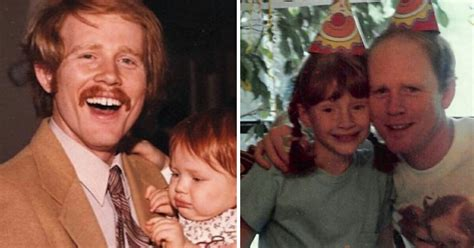 Ron Howard's daughter is all grown up – she's working as a