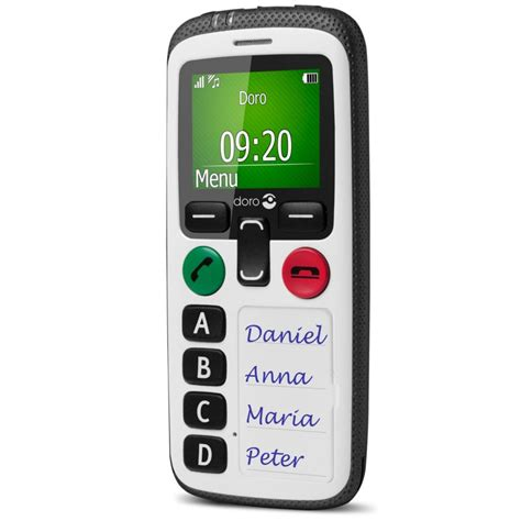 Doro Secure 580 Amplified Safety Mobile Phone :: Sports