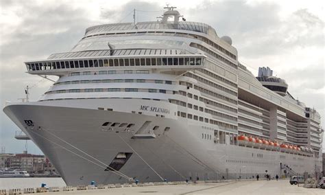 MSC Splendida - Itinerary Schedule, Current Position