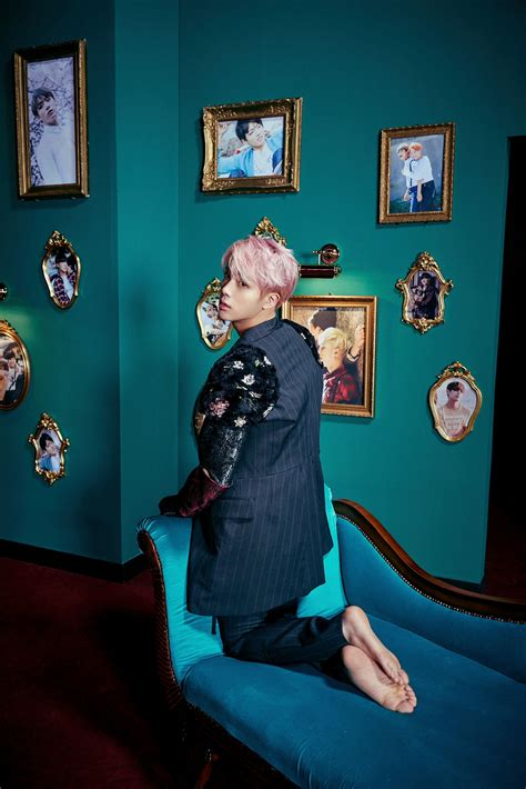BTS Unveils Concept Photos For Jin And Group (And They