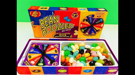Jelly Belly BEAN BOOZLED Jelly Bean Game 3rd Edition - YouTube