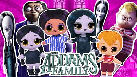 The ADDAMS Family 🏚️ Wednesday , Morticia, Gomez & Pugsley