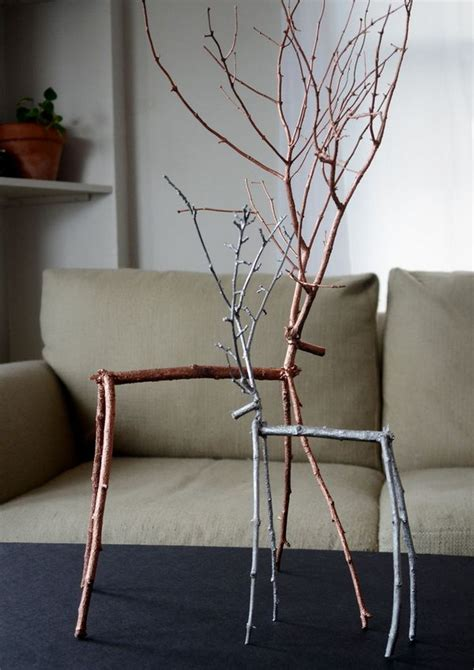 DIY Ideas with Twigs or Tree Branches - Hative
