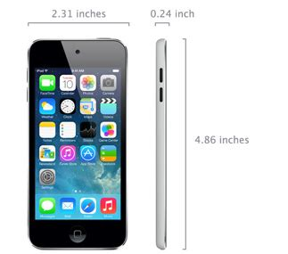 iPod touch 16GB (5th generation, Mid 2013) - Technical