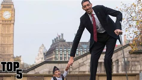 Top 5 Tallest People In The World - YouTube