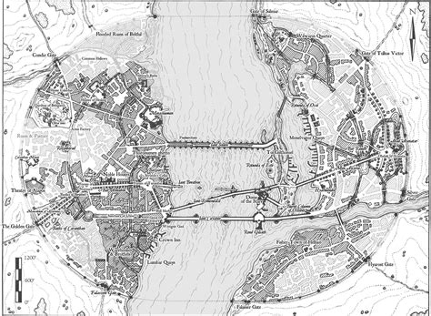 Map of Osgiliath   Fantasy map, Middle earth map, Tolkien map