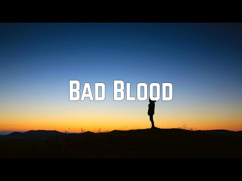 """Taylor Swift Reveals Who """"Bad Blood"""" Is Really About"""