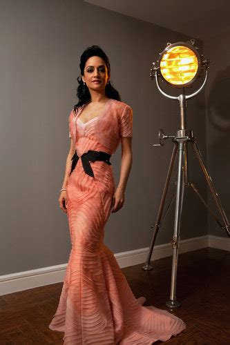 Archie Panjabi - What I Wore - The New York Times