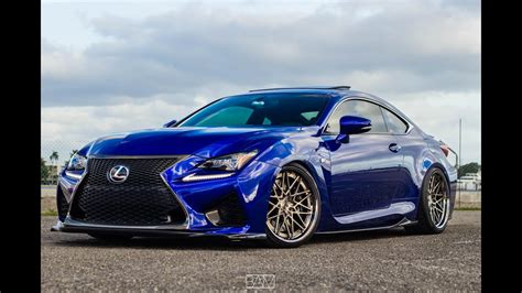Lexus RCF ISS Forged   @Ds01lexus - YouTube