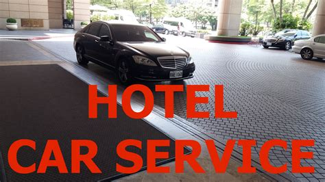 Hotel Car Service - When Does It Make Sense And How To