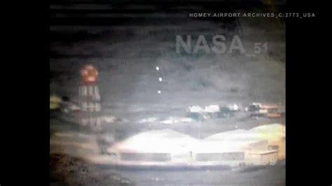 UFO sighting inside Area 51 Homey Airport archives leaked