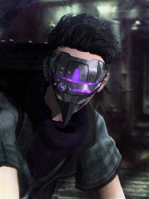 """The Dark Style Fair 2015: Compass Hacker Mask   """"Within"""