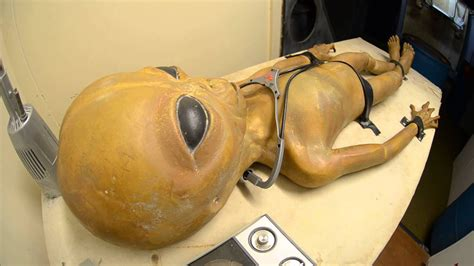 What the Alien Autopsy Looked Like at Area 51 Roswell, NM