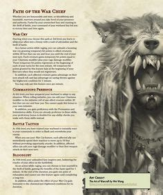 Pin by Josh M on Dnd 5e homebrew | Barbarian dnd, Dungeons