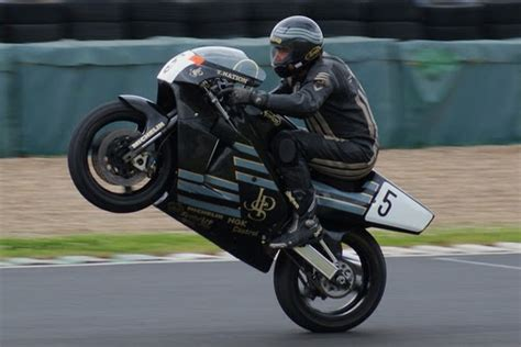 Bike Picture Of The Day: Trevor Nation on the JPS Norton