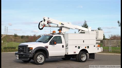 2009 Ford F550 4x4 Altec AT-37G 42' Articulated Bucket