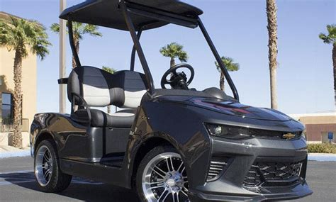 Chevy Camaro/Ford Mustang/F-150: Lustige Golfcarts