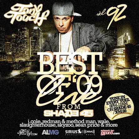 Tony Touch - Best Of 09 Live From Shade 45   Buymixtapes