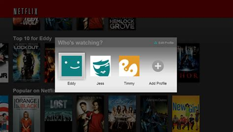 Finally! Netflix starts rolling out profiles for family