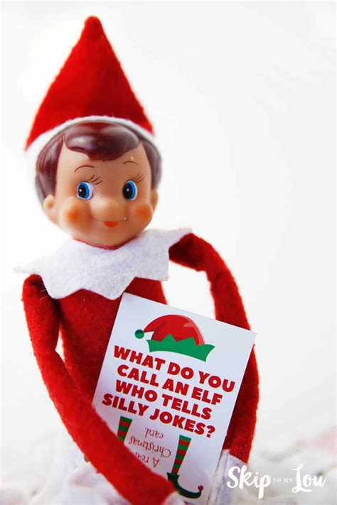 Funny Elf Jokes For The Elf On The Shelf   Skip To My Lou