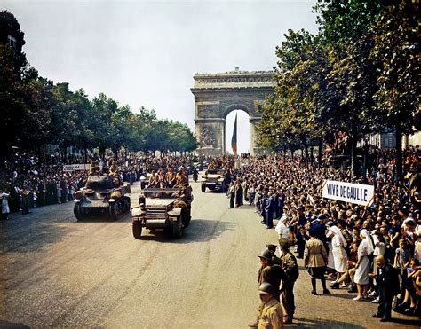 70th Anniversary of the Liberation of Paris During the