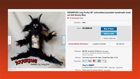 VICE - Welcome This $300 Krampus Long Furby Into Your Home