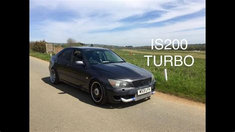 Lexus IS200 Turbo Update Review   SCREAMER PIPE AND MORE