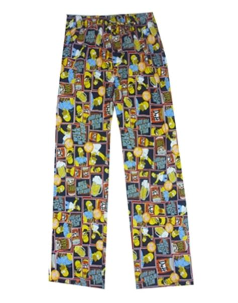 The Simpsons Homer Duff Beer Lounge Pants, Funny Comedy